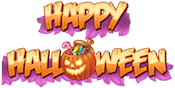 Happy Halloween Slots Large Logo