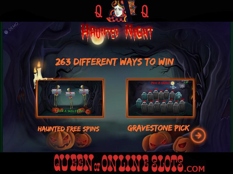 Haunted Night Slot Machine