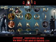 Invisible Man Slots Free Spins
