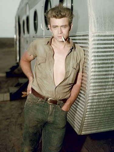 James Dean Leaning