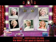Marilyn Monroe Slots Bonus Round