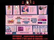 Pink Panther Slots Pay Table