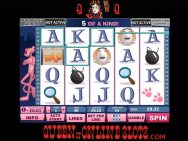 Pink Panther Slots Reels 2