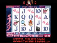 Pink Panther Slots Reels 3