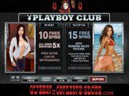 Playboy Slots Club Kimi and Sofia