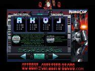 RoboCop Slots Paylines
