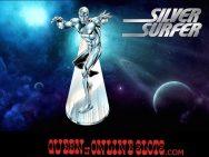 Silver Surfer Slots Main Screen