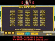 South Park Slots Paylines
