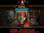 Spider-Man Attack of the Green Goblin Slots Comic Book Cover