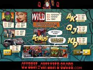 Spider-Man Attack of the Green Goblin Slots Paytable