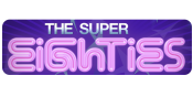 Super Eighties Slots Large Logo