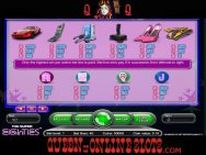 Super Eighties Slots Pay Table