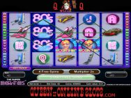 Super Eighties Slots Reels 2