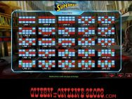 Superman Slots Paylines