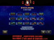 Thor The Mighty Avenger Slots Paylines