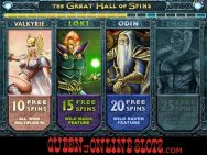 Thunderstruck 2 Slots Great Hall of Spins