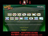 Wizard of Oz Slots Paylines