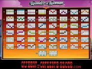 Wonder Woman Slots Paylines