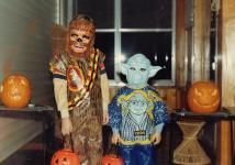80s Halloween Mask Star Wars