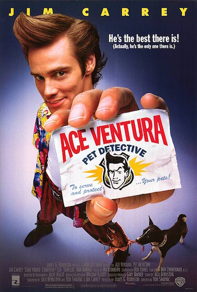 Ace Ventura Movie Poster