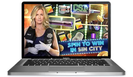 CSI Slots Main Image