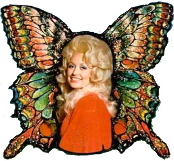 Dolly Parton Butterfly
