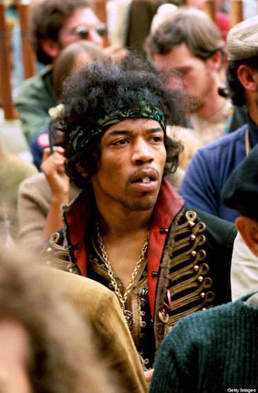 Hendrix Taking Acid