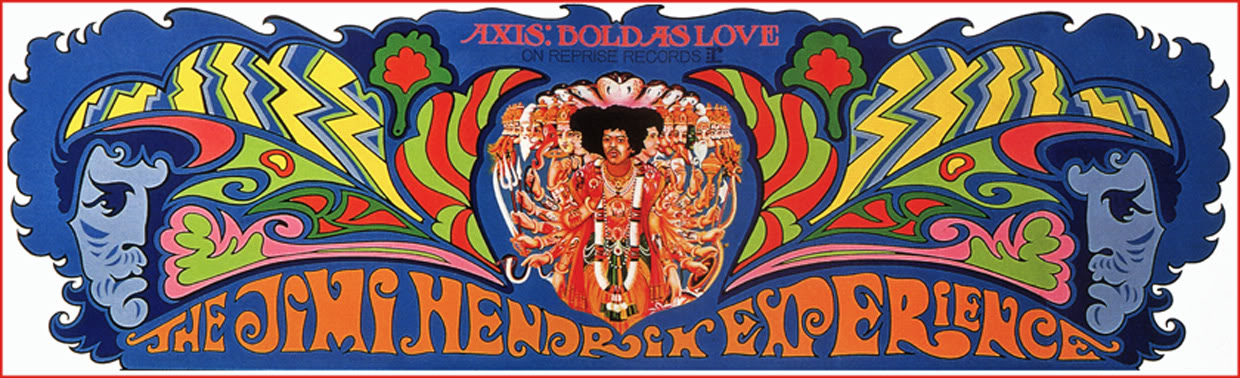 Jimi Hendrix Axis Bold as Love Banner