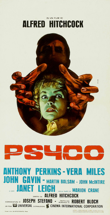 Psycho Italian Poster