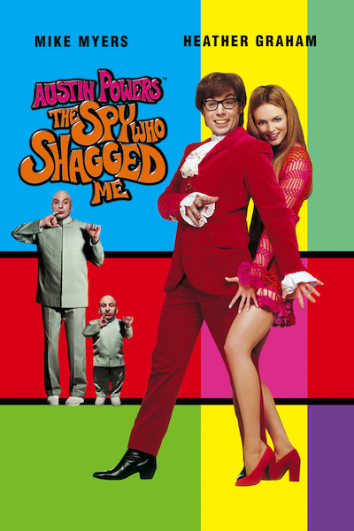 Spy Who Shagged Me Movie Poster