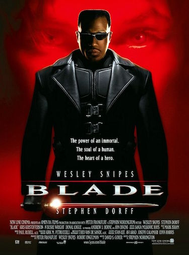 Blade Original Movie Poster