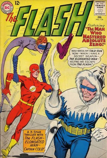 Flash Comic Cover Captain Cold