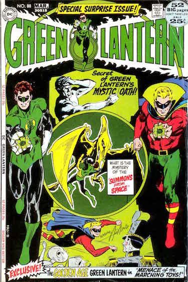Green Lantern Comic 88