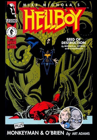 Hellboy Cover Seed of Destruction