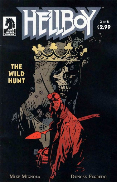 Hellboy Cover The Wild Hunt