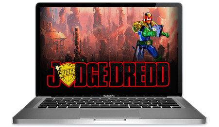 Judge Dredd Slots Main Image