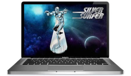 Silver Surfer Slots Main Image