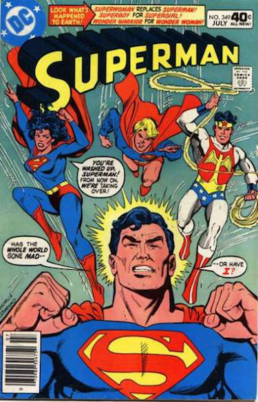 Superman Comic 349