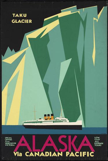 Alaska Poster Canadian Pacific