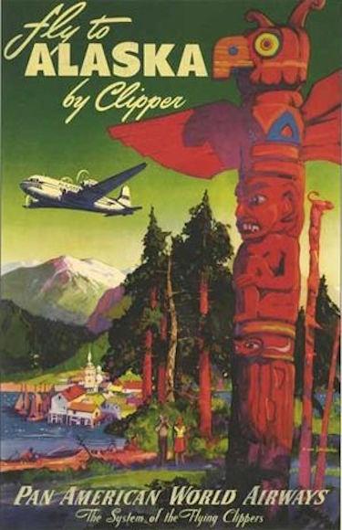 Alaska Poster Pan Am