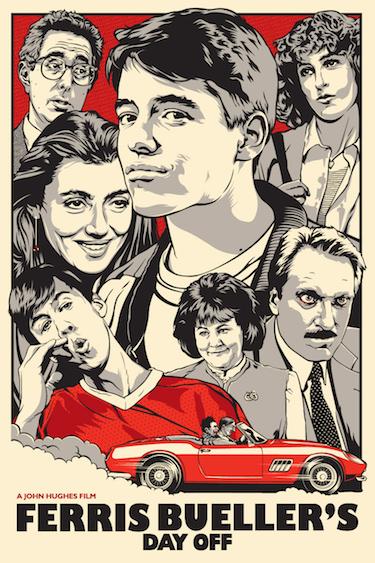 Ferris Bueller Fan Poster