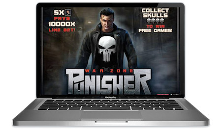Punisher Slots Main Image
