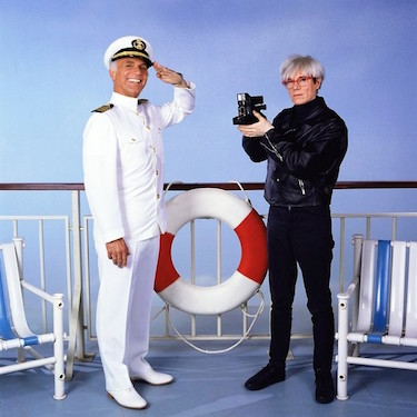 Captain Stubing and Andy Warhol