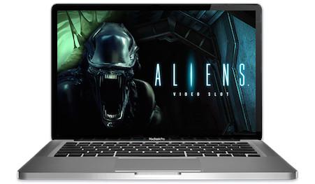 Aliens Slots Main Image