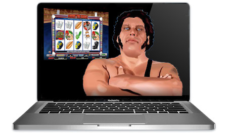 Andre the Giant Slots Main Image