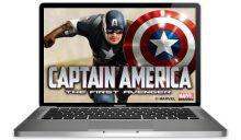 Captain America Slots Main Image