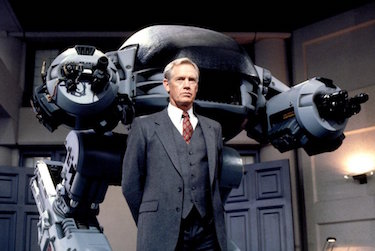 ED-209 and Dick Jones