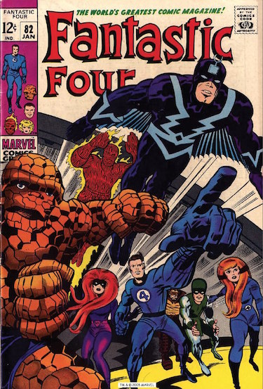 Fantastic 4 Comic Book Cover