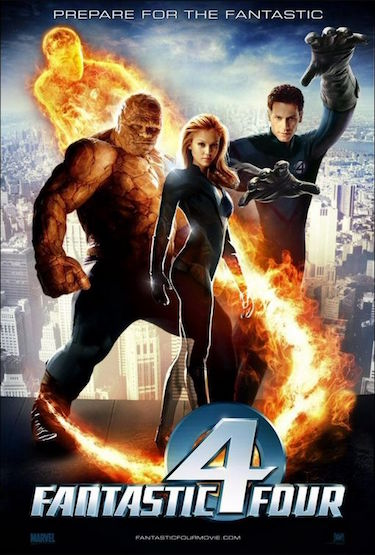 Fantastic Four Movie Poster from 2005