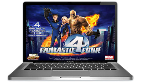 Fantastic Four Slots Main Image